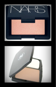 NARS Orgasm Blush & CHANEL Double Perfection Compact